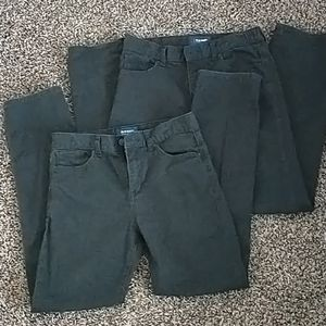 Old Navy Karate Regular Fit Dark Gray boys jeans size 14 adjustable waist